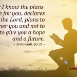 Fitting into God's Plan