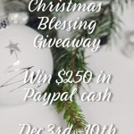 Accepting God's Love & Christmas Blessing Giveaway!